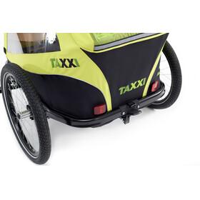 s'cool taXXi Elite - Remorque vélo Enfant - for Two vert